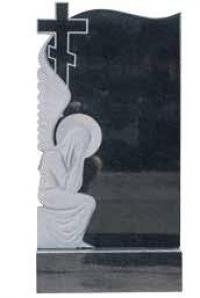 Памятник с ангелом и крестом