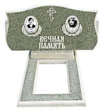 Двойной памятник из мраморной крошки 37k/100