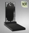 Мусульманский памятник с гравировкой №101