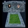 Памятник из мраморной крошки, для двоих 41k/101