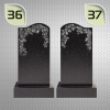 Вертикальные памятники с гравировкой № 36 и №37