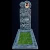Памятник из мраморной крошки в форме сердца 10k/3